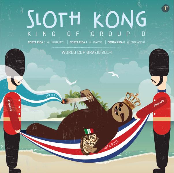 sloth kong stoner sloth