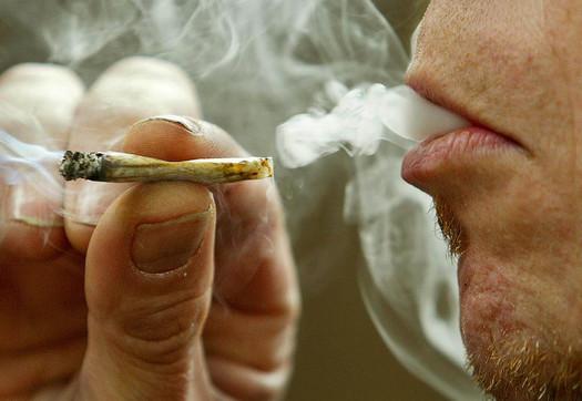 smoking marijuana main