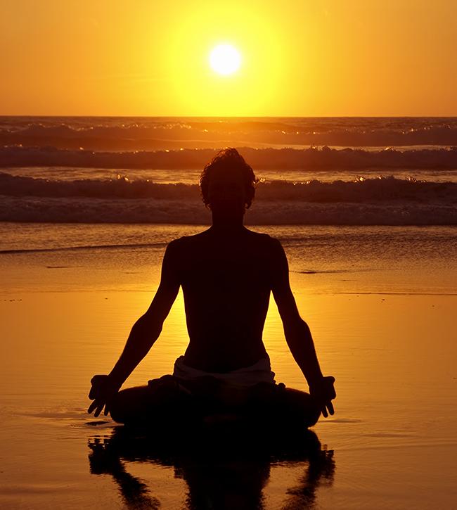 solitary meditation