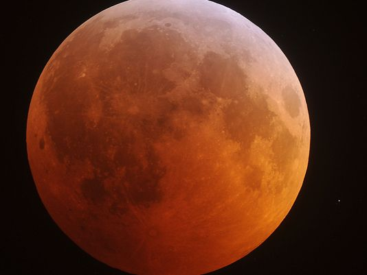 supermoon llunar eclipse