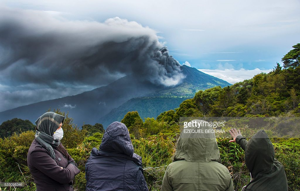 volcano turrialba erruption 1