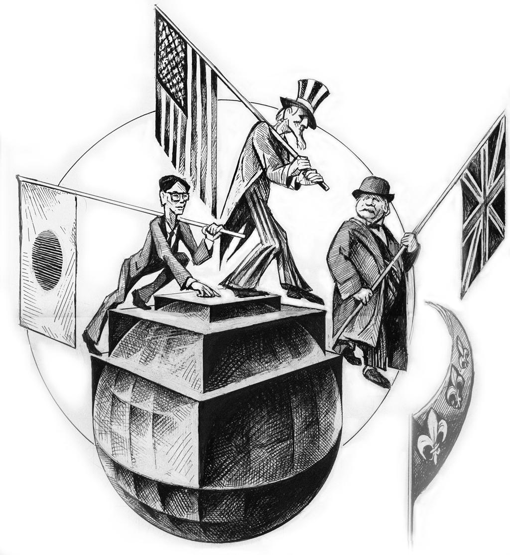 world political architecture